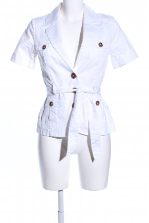 H&M Short Sleeve Shirt white casual look