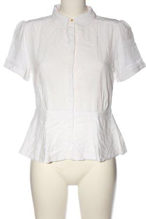 H&M Camicia a maniche corte bianco stile professionale