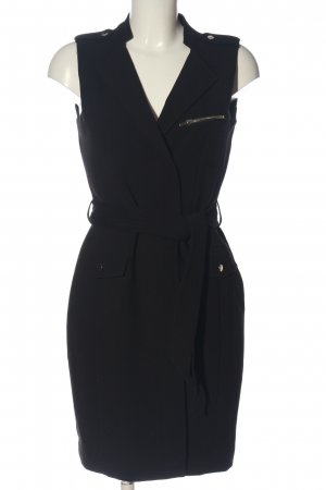 H&M Kurzarmkleid schwarz Casual-Look