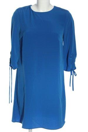 H&M Kurzarmkleid blau Casual-Look