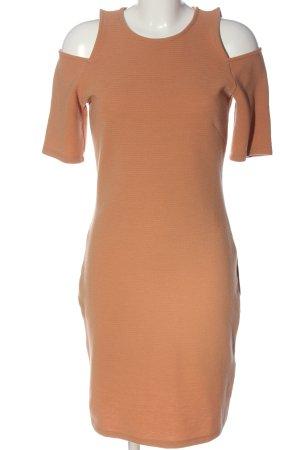 H&M Kurzarmkleid nude Casual-Look