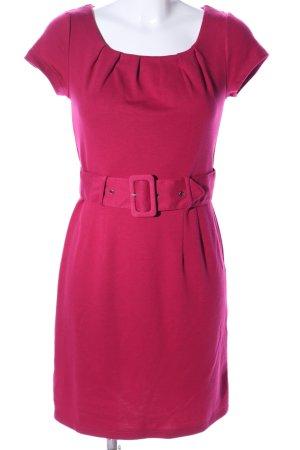H&M Kurzarmkleid pink Business-Look