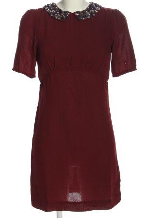 H&M Kurzarmkleid rot Elegant