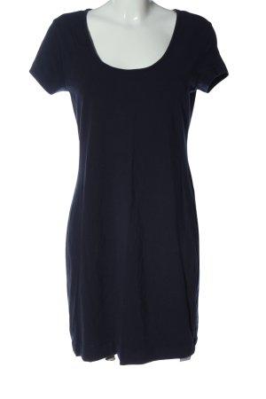 H&M Kurzarmkleid blau Elegant