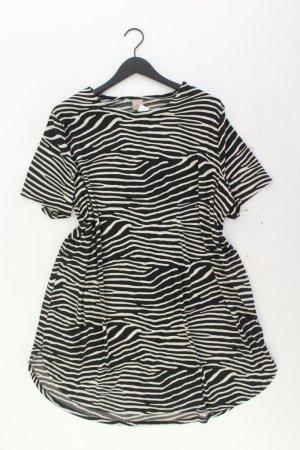 H&M Kurzarmkleid Größe XL mit Tierdruck mehrfarbig