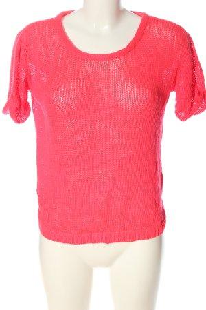 H&M Kurzarmpullover pink Casual-Look