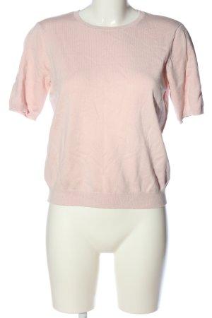 H&M Jersey de manga corta rosa look casual