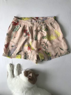 H&M Conscious Collection High-Waist-Shorts multicolored