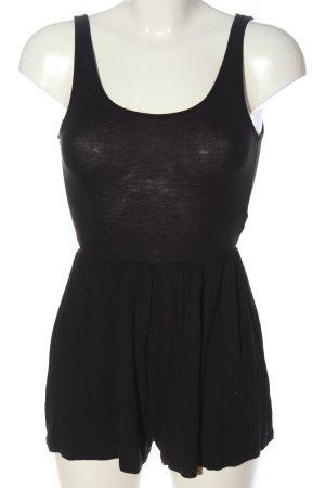 H&M Kurzer Jumpsuit schwarz Casual-Look