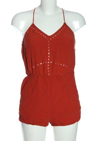 H&M Kurzer Jumpsuit hellorange Casual-Look