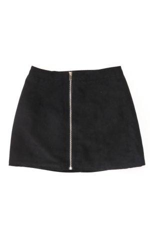H&M Kurzer Rock Größe 36 schwarz aus Polyester