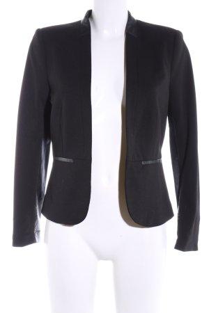 H&M Kurzjacke schwarz Business-Look