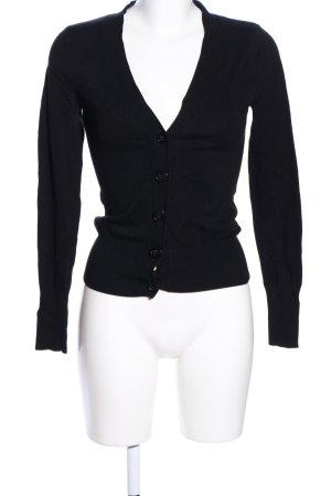 H&M Kort jack zwart casual uitstraling
