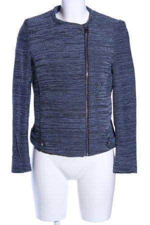 H&M Kurzjacke blau meliert Casual-Look