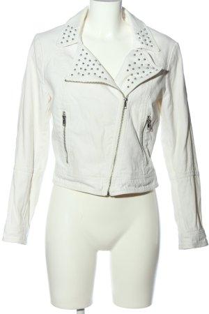 H&M Kurzjacke weiß Casual-Look