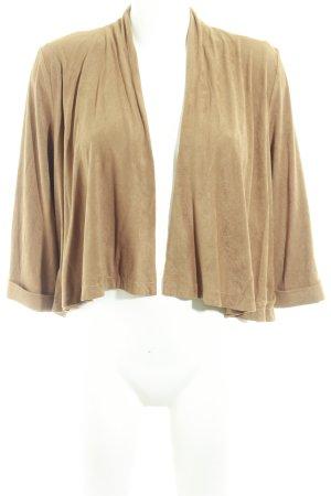 H&M Kurzjacke camel Casual-Look
