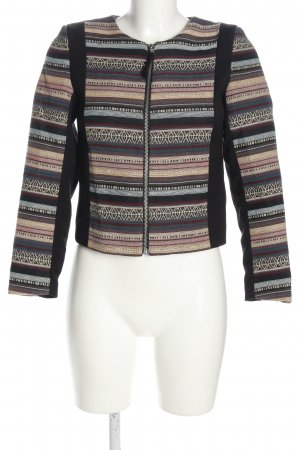 H&M Kurzjacke grafisches Muster Casual-Look