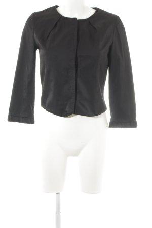 H&M Kurzjacke schwarz schlichter Stil
