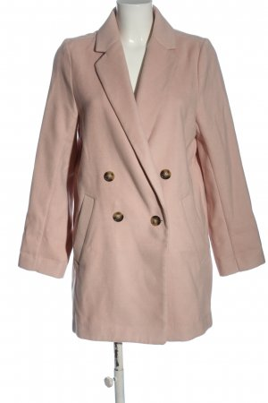 H&M Kurzmantel pink Business-Look