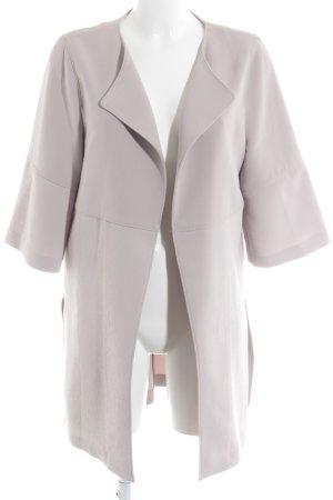 H&M Kurzmantel rosé-hellgrau Business-Look
