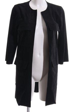 H&M Kurzmantel schwarz Casual-Look