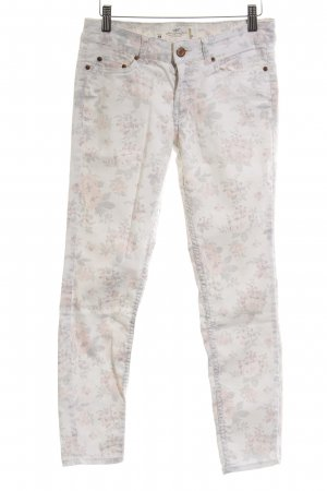 H&M L.O.G.G. 7/8 Jeans Blumenmuster Casual-Look