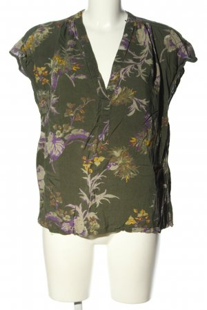 H&M L.O.G.G. Mouwloze blouse volledige print casual uitstraling
