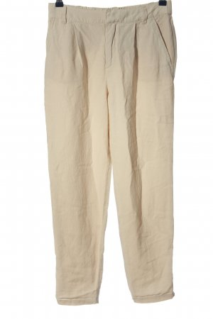 H&M L.O.G.G. Baggy Pants creme Casual-Look