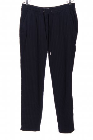 H&M L.O.G.G. Baggy Pants blau Streifenmuster Casual-Look