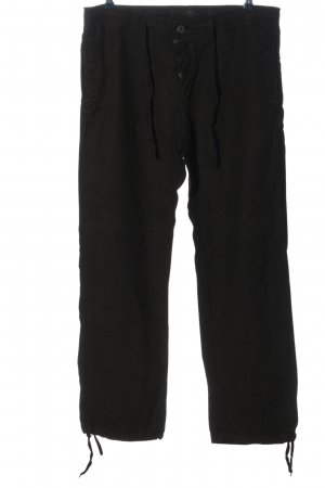H&M L.O.G.G. Baggy Pants schwarz Casual-Look