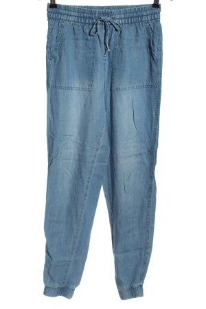 H&M L.O.G.G. Baggy Pants blau Casual-Look