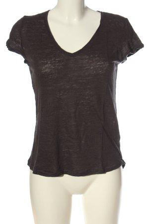 H&M L.O.G.G. Basic-Shirt braun Casual-Look