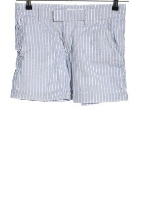 H&M L.O.G.G. Bermuda blu-bianco motivo a righe stile casual