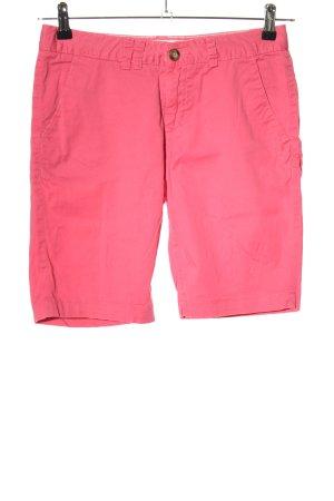 H&M L.O.G.G. Bermuda pink Casual-Look