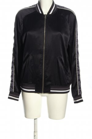 H&M L.O.G.G. Collegejacke schwarz Casual-Look