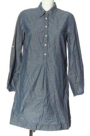 H&M L.O.G.G. Blusenkleid blau Casual-Look