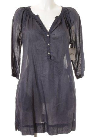 H&M L.O.G.G. Blusenkleid dunkelblau Casual-Look