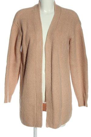 H&M L.O.G.G. Kardigan brązowy Warkoczowy wzór W stylu casual