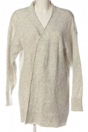 H&M L.O.G.G. Kardigan w kolorze białej wełny Melanżowy W stylu casual