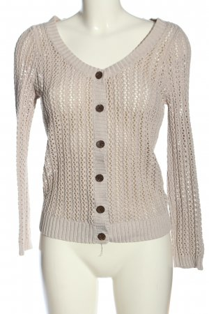 H&M L.O.G.G. Cardigan creme Casual-Look