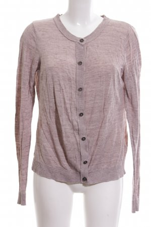 H&M L.O.G.G. Cardigan pink meliert Casual-Look