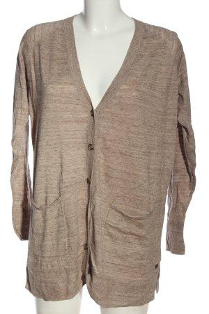 H&M L.O.G.G. Kardigan brązowy Melanżowy W stylu casual