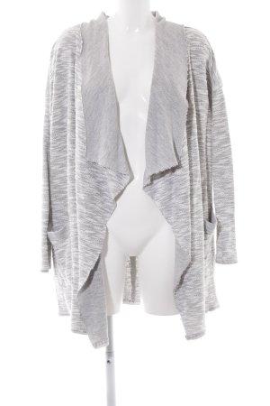 H&M L.O.G.G. Kardigan szary-biały Melanżowy W stylu casual