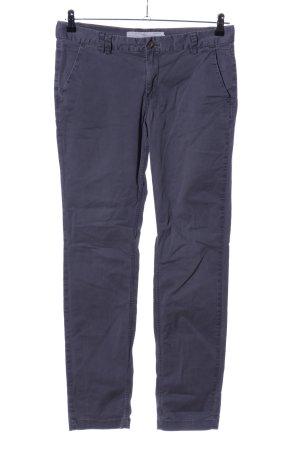 H&M L.O.G.G. Cargohose blau-hellgrau Casual-Look
