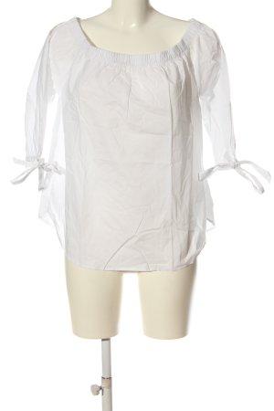 H&M L.O.G.G. Bluzka typu carmen biały W stylu casual