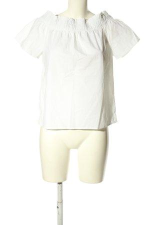 H&M L.O.G.G. Top épaules dénudées blanc style décontracté