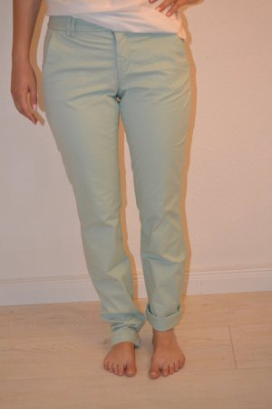 H&M Chino verde grisáceo-menta