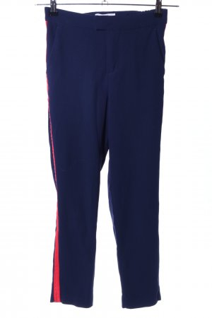 H&M L.O.G.G. Chino blauw-rood casual uitstraling