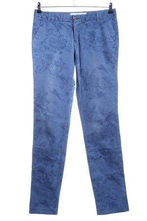 H&M L.O.G.G. Chinohose blau Casual-Look