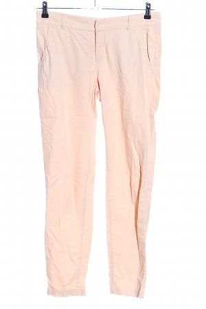 H&M L.O.G.G. Chinohose creme Casual-Look
